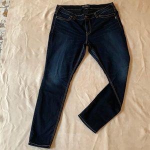 Silver Jeans Co. Suki mid super skinny jeans. Size 20